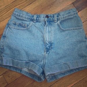 American Apparel High Waisted Shorts 27